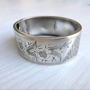 Antique Victorian Sterling Silver Bracelet